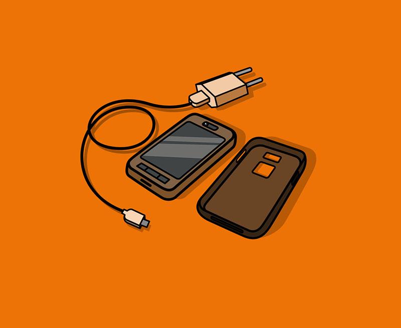 2x Nokia Handy